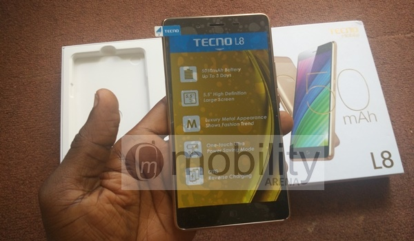 Unboxing, Hands on, and First Impressions with the TECNO L8 9