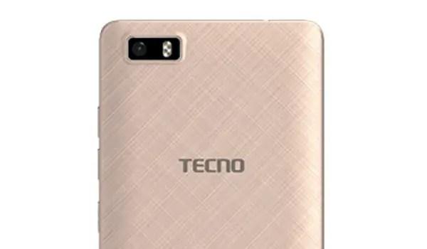 TECNO W3 specs back top
