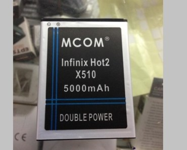 Did you know? There's a 5000mAh battery for the Infinix Hot2 5
