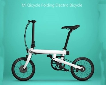 foldable bicycle.