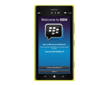 bbm on windows phone