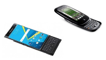 BlackBerry Priv and Palm Pre