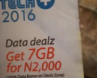 mtn 7gb data plan