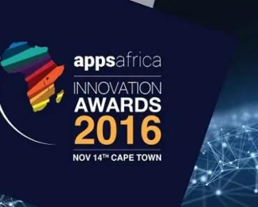 Appsafrica Innovation Awards 2016 banner