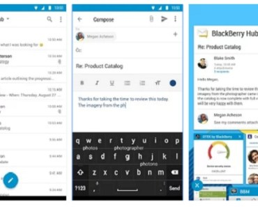 BlackBerry hub for Android