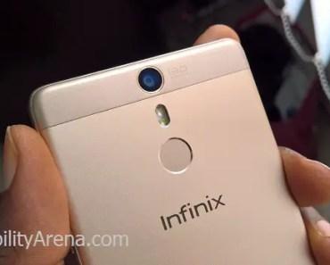 Infinix Hot S camera