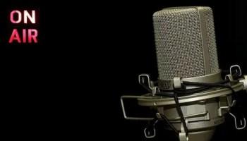 radio show microphone