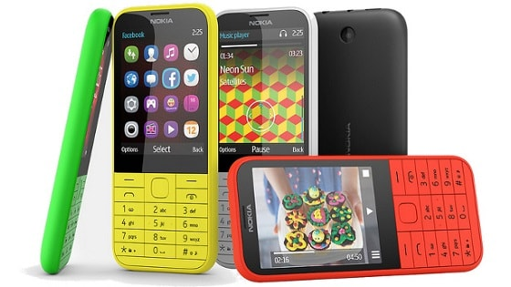 feature phones rule Africa