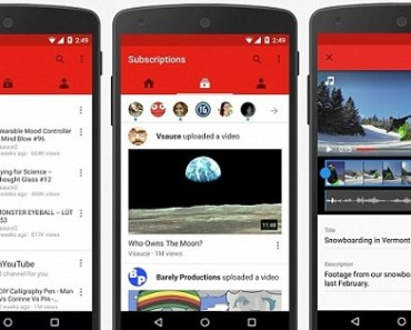YouTube mobile live-streaming