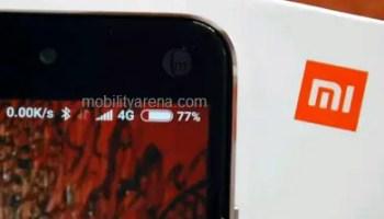 Xiaomi Redmi Note 4 notification bar