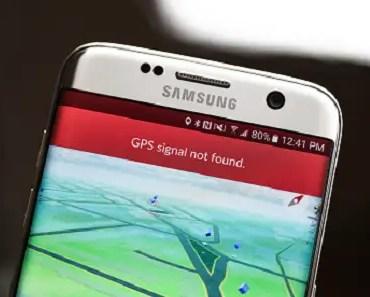 faulty GPS signal