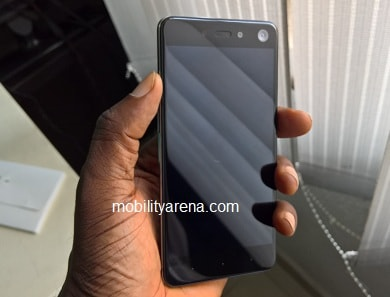 Infinix S2 Pro front in hand