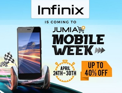 Infinix at Jumia Mobile Week 2017