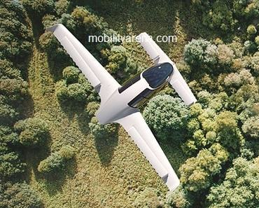 electric flying jet
