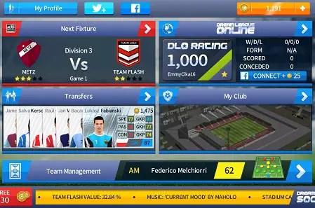 Dream League Soccer 17 Screenshot