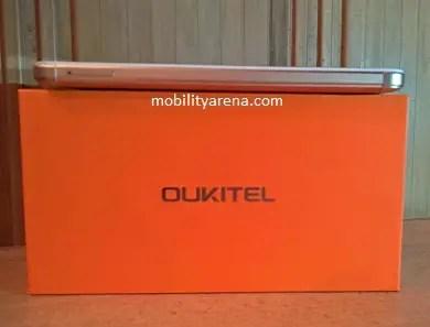OUKITEL K6000 Plus side