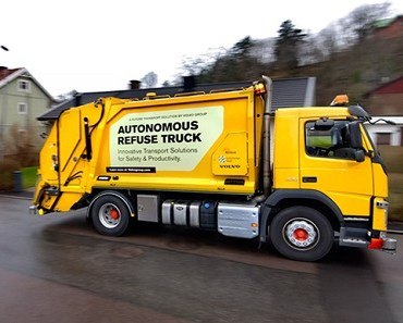 self-driving garbage trucks