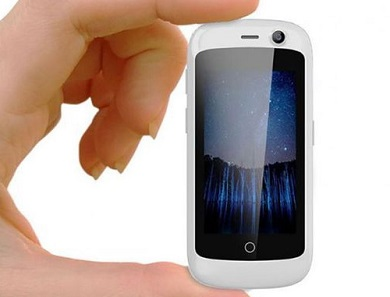 Unihertz Jelly smallest 4G smartphone