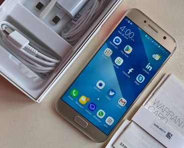 Samsung Galaxy A5 2017 Unboxing - with open pack