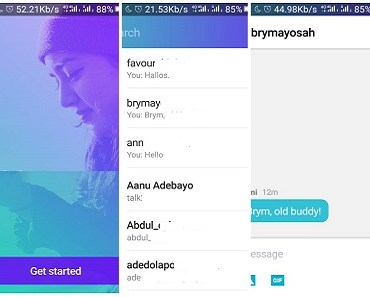 new Yahoo Messenger app