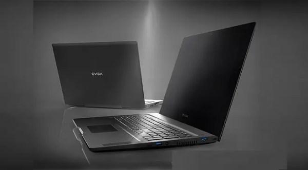 EVGA SC17 laptop