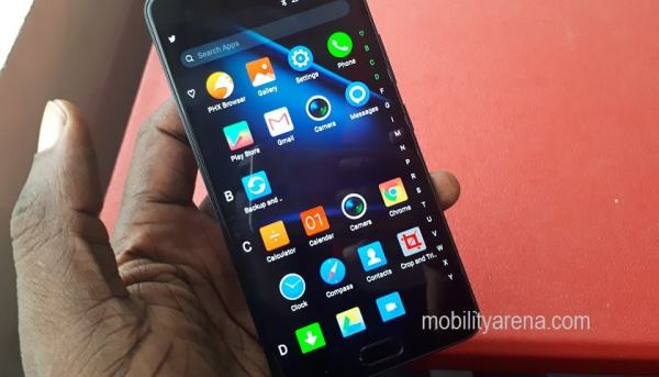 Infinix Note 4 review app drawer