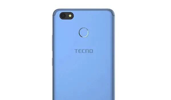 TECNO SPark K7 top