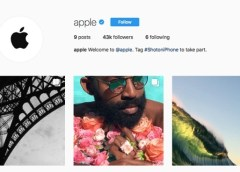 Apple Instagram account