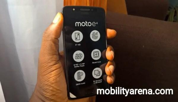 moto e4 review - Moto e4 Benchmark Tests