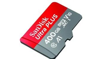 sandisk 400GB microSD card