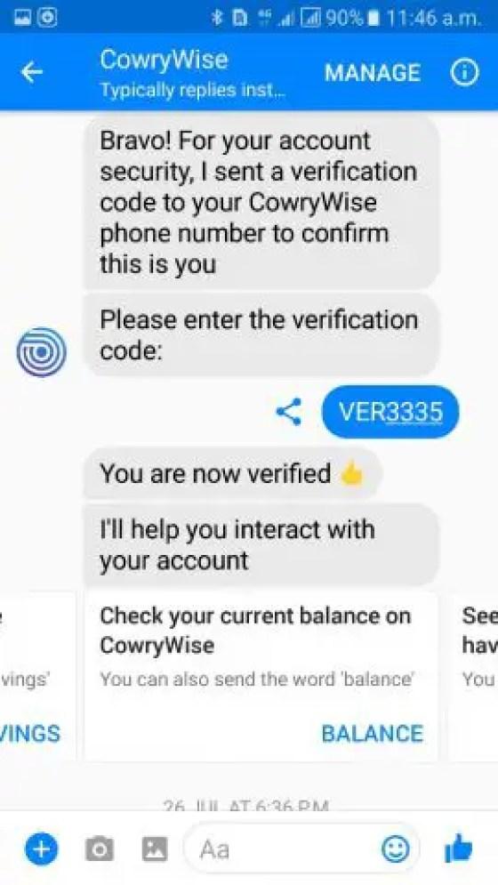 Sisi - CowryWise Bot