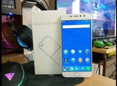 ASUS Zenfone 4 Selfie Pro review box