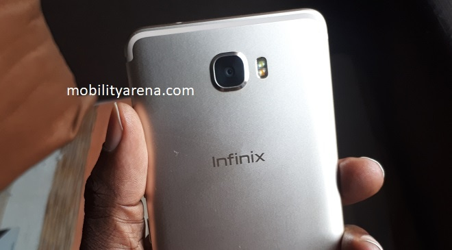 Infinix Note 4 Pro Rear Camera