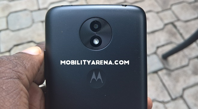 Moto C Plus rear camera