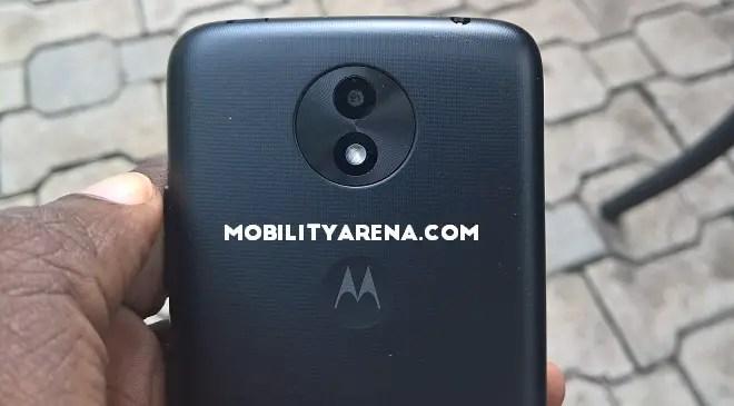 Moto C Plus rear camera