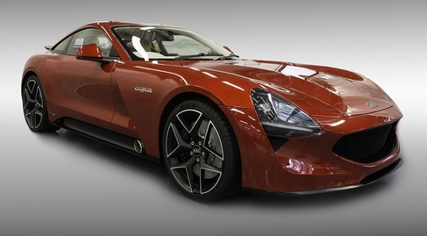 2018 TVR Griffith front