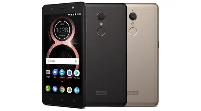 Lenovo K8 Android 8 Oreo updates