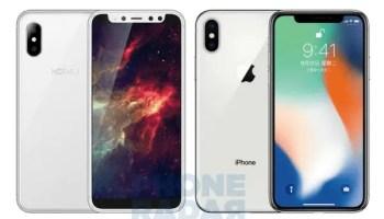 Hoywav S3 is an iPhone X clone