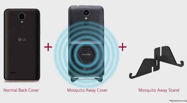 LG K7i LG 230i - Mosquito Away cover - Mosquito Away stand - Anti-malaria Smartphone