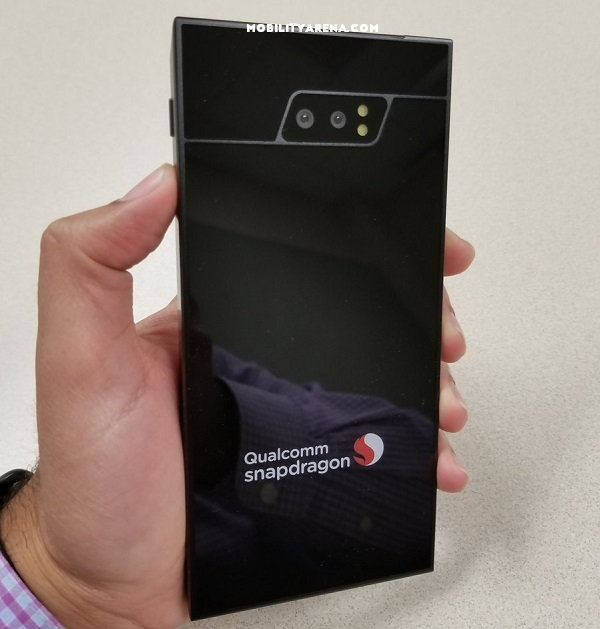 first 5g smartphone