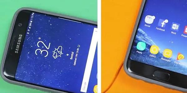 Convert Galaxy S7 Edge to Galaxy S8 plus