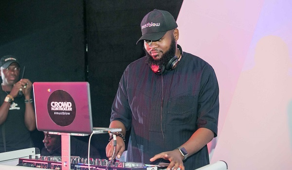 DJ Crowd Kontroler at iPhone X Lagos Launch