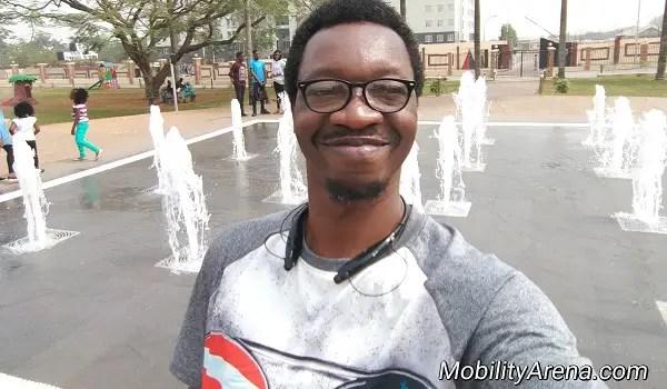 LG G6 Mister Mo selfie JJT park