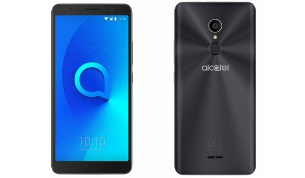 Alcatel 3C front and back