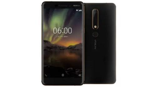 nokia 6(2018) specifications