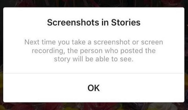 Instagram screenshot alerts for Stories