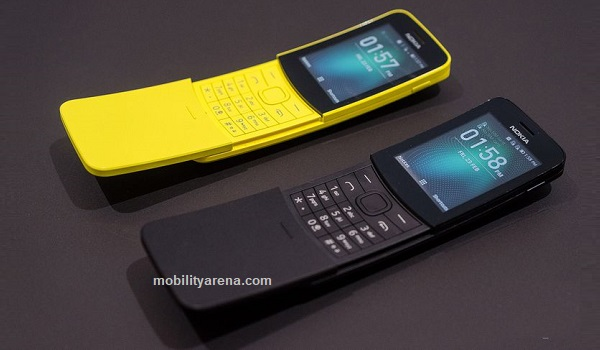 nokia 8110 4G 2018 cheapest 4g phones in Nigeria