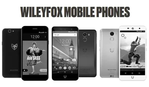 wileyfox mobile phones