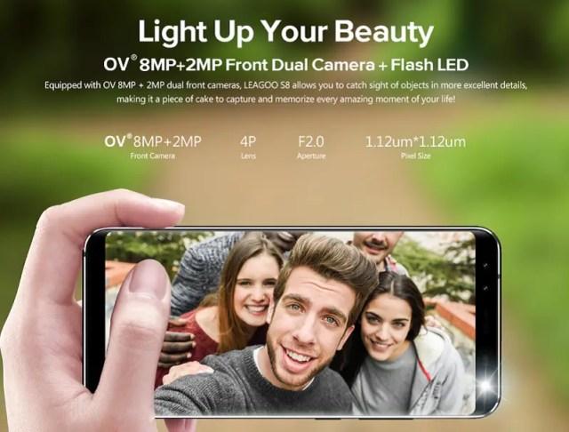 leagoo s8 light up your beauty
