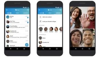 bloated Skype app updated